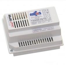 Wzmacniacz domofonowy z interkomem i zasilaczem sieciowym 10VA 15A007010