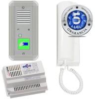 Domofon analogowy jednorodzinny z czytnikiem kart 50A2011A/C/D